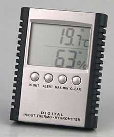 Hygro-/Thermometer Digital - Nr. 596 592