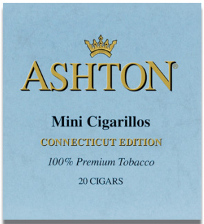 Ashton Small Cigars Connecticut - Mini Cigarillos