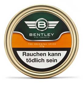Bentley Classic Tabak - The Oriental Amber (ehemals The Oriental Spice)
