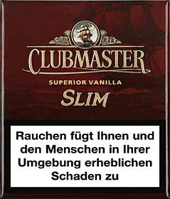 Clubmaster Superior Red Slim ( ehemals Vanilla )