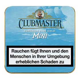 Clubmaster Mini Blue Gold