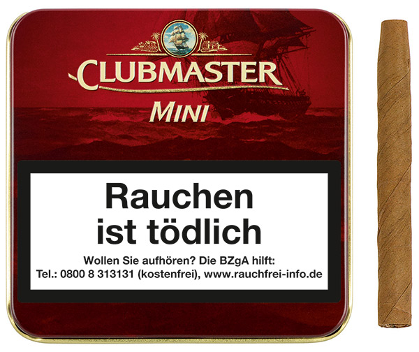 Clubmaster Minis - Mini Superior Red ( ehemals Vanilla)