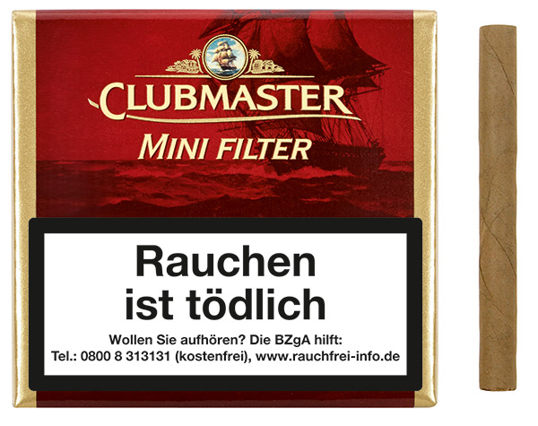 Clubmaster Minis - Mini Filter Superior  Red ( ehemals Vanilla)