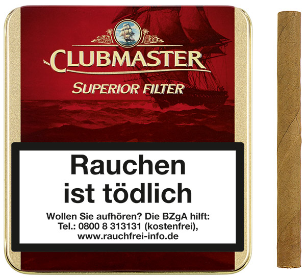 Clubmaster Superior Red  Filter (ehemals Vanilla)