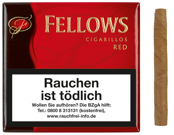 Fellows Cigarillos  Red (ehemals Vanilla)
