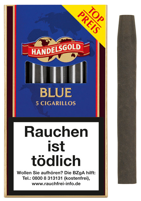 Handelsgold Cigarillos Blue (ehemals Sweets Chocolate)