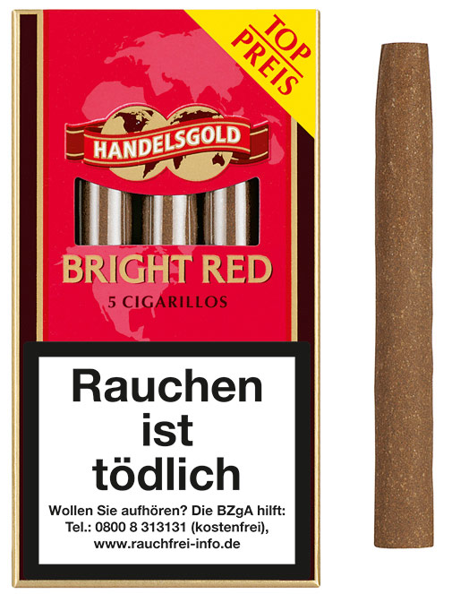 Handelsgold  Cigarillos Bright Red (ehemals Sweets Strawberry)