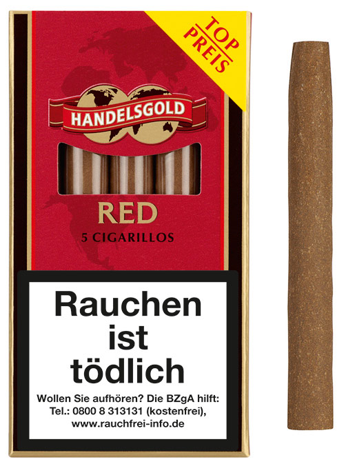 Handelsgold Cigarillos Red ( ehemals Sweets Cherry)