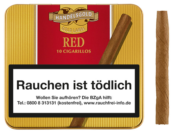Handelsgold Gold Label Cigarillos Red (ehemals Vanilla)