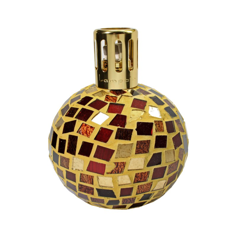 Lampair by Millefiori Milano - Linea Mosaico Gold Red