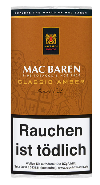 Mac Baren Classic Amber Loose Cut (ehemals Vanilla Toffee Cream)