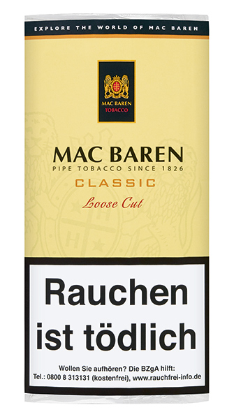 Mac Baren Classic Loose Cut (ehemals Vanilla Cream Loose  Cut)