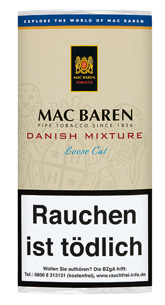 Mac Baren  Danish Mixture  (ehemals Mixture Aromatic )