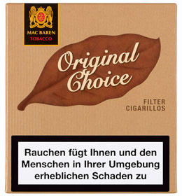 Mac Baren Filter Cigarillos - Original Choice