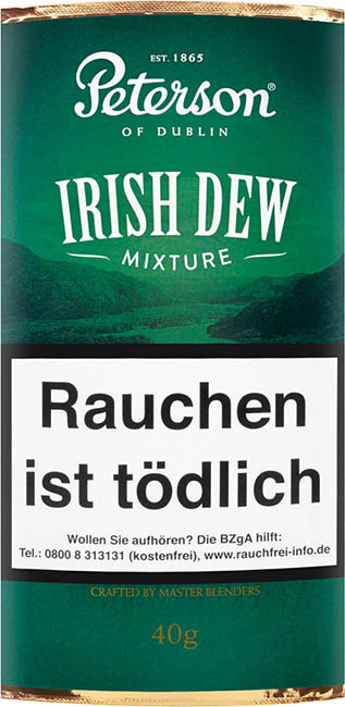 Peterson Pfeifentabak Irish Dew