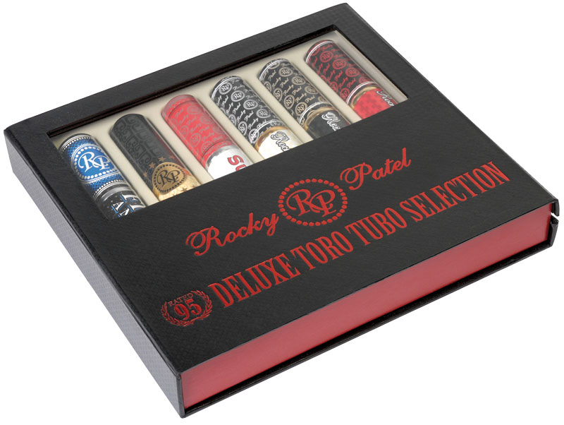 Rocky Patel Collection - Deluxe Toro Tubos Selection
