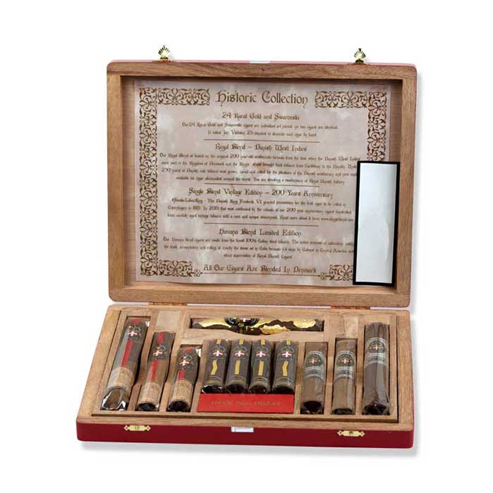 Zigarren Probierpakete: Royal Danish Historic Collection Sampler