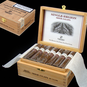 Carlos Torano Single Region Serie Jalapa Short Robusto