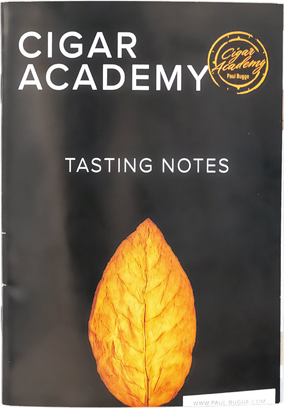 Cigar Academy Tasting Notes