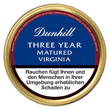 Dunhill Vintage Blend Three Year Matured Virginia