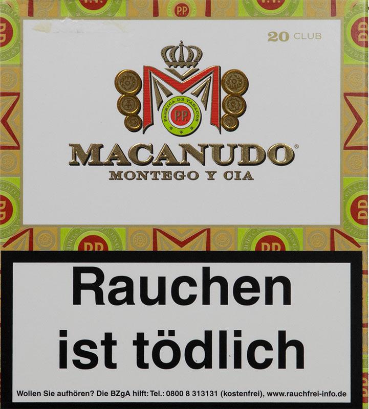 Macanudo Cafe Club Cigarillos