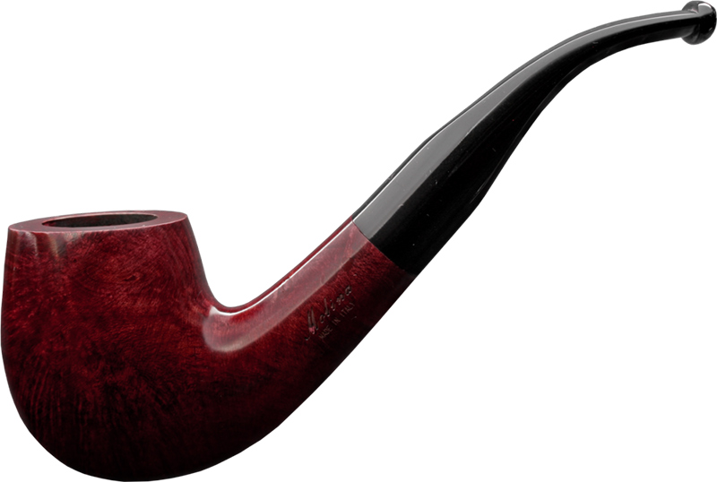 Molina Pfeifen Beginner Set Burgundy Bent