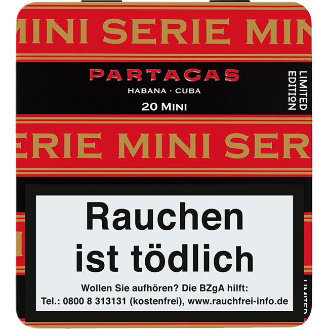 Partagas Serie Mini Limited Edition 2019