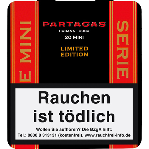 Partagas Minis Limited Edition 2021