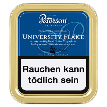 Peterson Pfeifentabak University Flake
