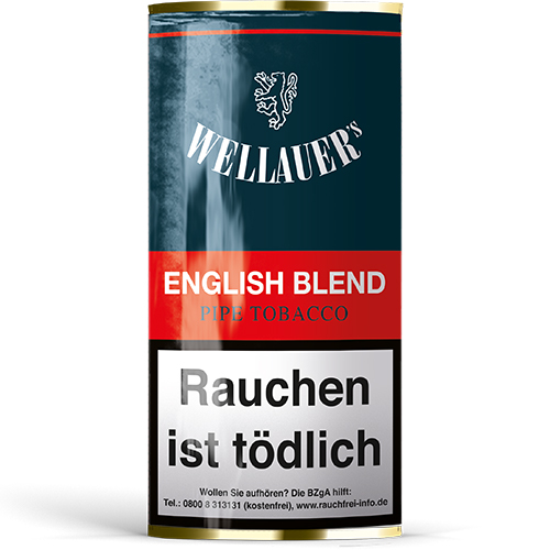Wellauers Pfeifentabak English Blend