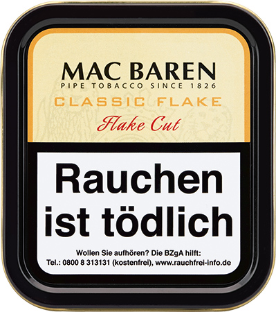 Mac Baren Classic Flake (ehemals Vanilla Cream)