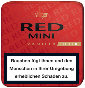 Villiger Mini Filter - Red Blechdose (ehemals Vanilla)