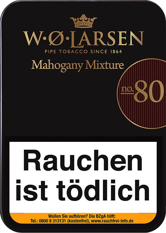 W.O.Larsen Mahogany Mixture No.80 ( ehemals Aromatic Mixture)