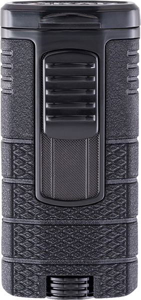Xikar Feuerzeuge Triple Tactical Black