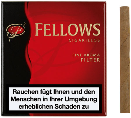 Fellows Cigarillos Red - mit Filter (ehemals Vanilla)