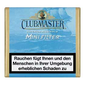 Clubmaster Minis - Mini Filter  Blue Gold